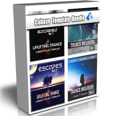 cubase templates 4 pack box