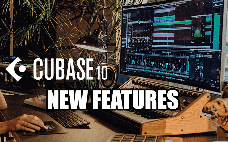 cubase 10 new features