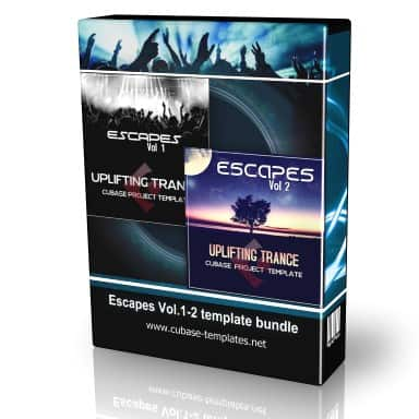 escapes uplifting trance cubase templates