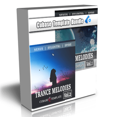 trance melodies pack box