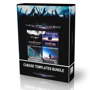 trance templates cubase bundle