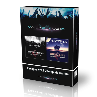 escapes cubase templates bundle
