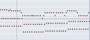 Cubase pianoroll