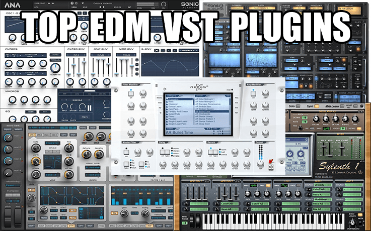 edm vst plugins