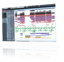 cubase template screen