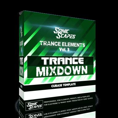 Trance Mixdown - Cubase Template